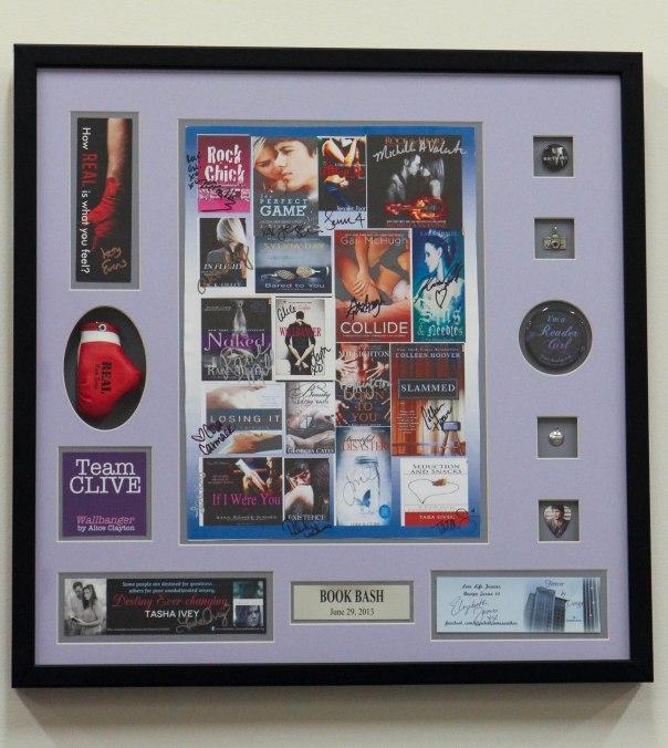 Custom Framed Shadowbox with Memorabilia