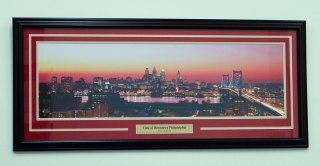 Custom Framed Print with Custom Engraved Nameplate
