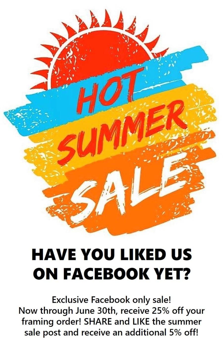 Summer Sale June Website