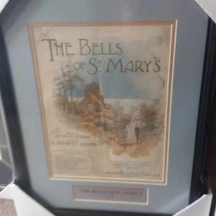 Bells of St Mary's original sheet music cover