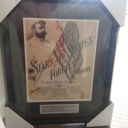 Stars & Stripes Sheet Music Cover - After