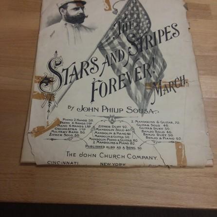 Stars & Stripes Sheet Music - Before